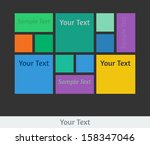 raster user interface template. ...