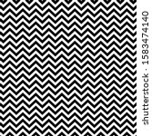 black and white zigzag... | Shutterstock .eps vector #1583474140