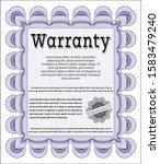 violet vintage warranty...   Shutterstock .eps vector #1583479240