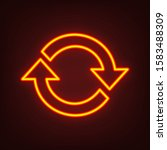 arrow sign reload refresh... | Shutterstock .eps vector #1583488309