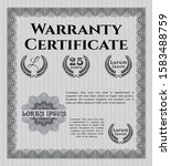grey vintage warranty...   Shutterstock .eps vector #1583488759