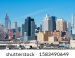 greenpoint brooklyn  new york   ...   Shutterstock . vector #1583490649