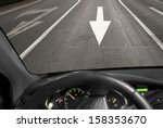 Car Driving Against Traffic On...