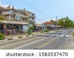 obzor  bulgaria   jul 24  2018  ...   Shutterstock . vector #1583537470