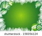 christmas background | Shutterstock .eps vector #158356124