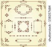 Vector Swirl Ornate Motifs And...