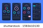 modern infographic vector...   Shutterstock .eps vector #1583610130