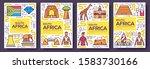 south africa vector brochure... | Shutterstock .eps vector #1583730166