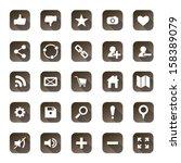 web icon set  vector...
