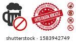 vector no beer drinking icon... | Shutterstock .eps vector #1583942749