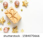 christmas gift boxes and... | Shutterstock . vector #1584070666