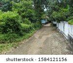 A Rural Road In Kottayam