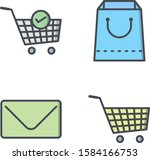 4 e commerce icons for personal ...