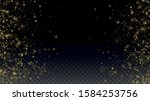new year vector background with ... | Shutterstock .eps vector #1584253756