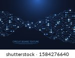 technology abstract circuit...   Shutterstock .eps vector #1584276640