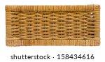 Wicker Basket Drawer Side View