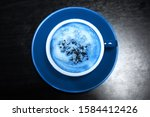 color of year  2020. cup of...   Shutterstock . vector #1584412426