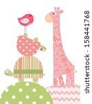 nursery and kids room art   Shutterstock . vector #158441768