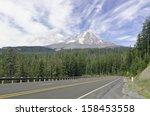 View Of Volcanic Mt. Hood ...