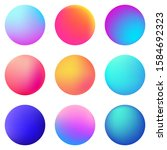 circle holographic gradients...