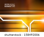 abstract business background  ... | Shutterstock .eps vector #158492006