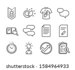 set of education icons  such as ...