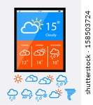 weather widget ui