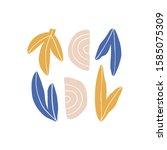 abstract modern art composition ... | Shutterstock .eps vector #1585075309