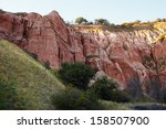 the beautiful red ravine  rapa... | Shutterstock . vector #158507900