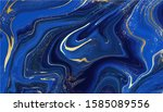 luxury marble and gold abstract ... | Shutterstock .eps vector #1585089556