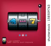slot machine illustration  sign ...
