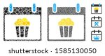popcorn calendar day icon...   Shutterstock .eps vector #1585130050