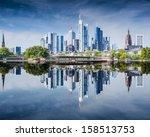 Skyline Of Frankfurt  Germany ...