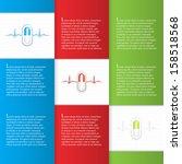 alternative medication concept  ...   Shutterstock .eps vector #158518568