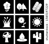 set of universal icons for your ... | Shutterstock .eps vector #1585197229