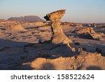 unusual rock formations  moon...   Shutterstock . vector #158522624