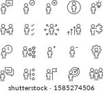 set of people icons  user  man  ... | Shutterstock .eps vector #1585274506