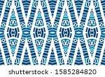 geometric watercolor african... | Shutterstock . vector #1585284820