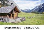 Old Farmhouse At The Karwendel...