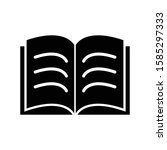 book vector icon design tempate
