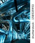 industrial zone  steel... | Shutterstock . vector #158535953