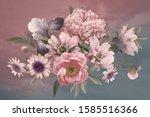 floral template. beautiful... | Shutterstock . vector #1585516366