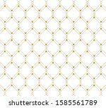 geometric abstract pattern... | Shutterstock .eps vector #1585561789