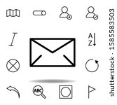 envelope  mail icon. can be...