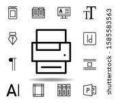 printer icon. can be used for...