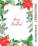 merry christmas and happy new... | Shutterstock . vector #1585637500