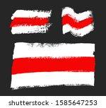 flag of belarus. former... | Shutterstock .eps vector #1585647253