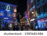 colmar  france   december 10 ... | Shutterstock . vector #1585681486