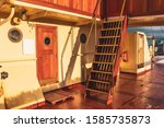 Old Ship Outdoor Wooden Deck...