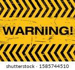 warning sign caution do not...   Shutterstock .eps vector #1585744510